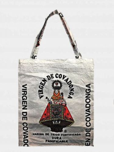 Recycled bag Virgen of Covadonga